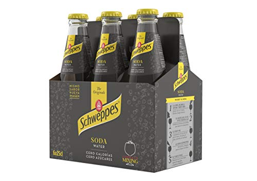 Schweppes Soda Water, 6 x 25cl
