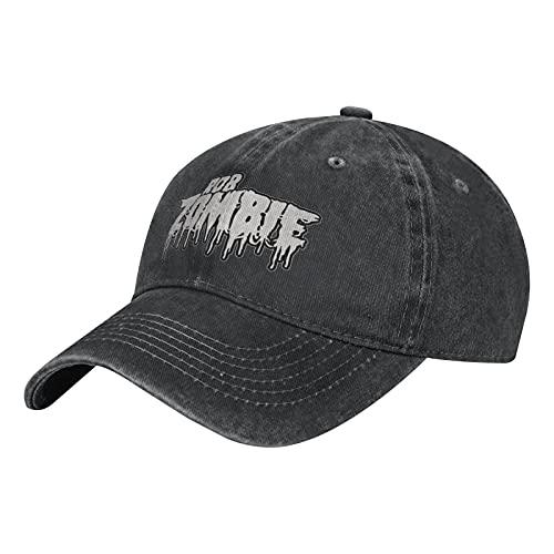 Rob Zombie Unisex Herren Damen Verstellbare Mütze Baseball Cap Hut Outdoor Kappe Baseballmütze