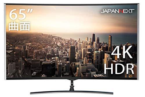 JN-VC655UHD [HDR対応 4K 65インチ曲面液晶ディスプレイ アルミ製 AMD freesync UHD PCモニター]