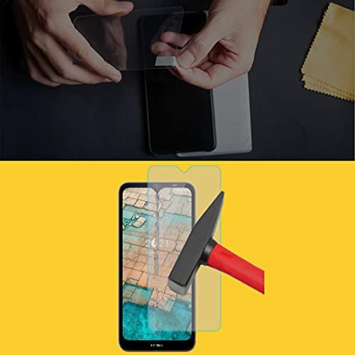 EnWi | 2X Panzer-Glas-Folie 9H Bildschirm-Schutz-Folie für Nokia G10 Dual SIM