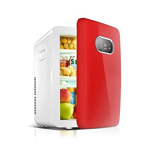 Sdesign Mini 20 litros de AC/DC Desarrollado termoeléctrica Sistema del refrigerador y Calentador for Coches, Casas, oficinas, y dormitorios (Color : Red)
