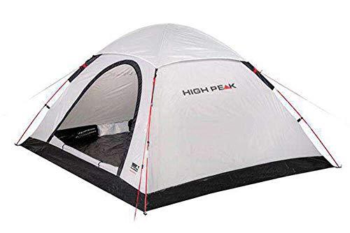 High Peak Kuppelzelt Monodome XL, Campingzelt für 4 Personen, Igluzelt, Festivalzelt mit Wannenboden, 1500mm wasserdicht, UV 60 Sonnenschutz, Freistehend, Hochentlüftung, Moskitoschutz