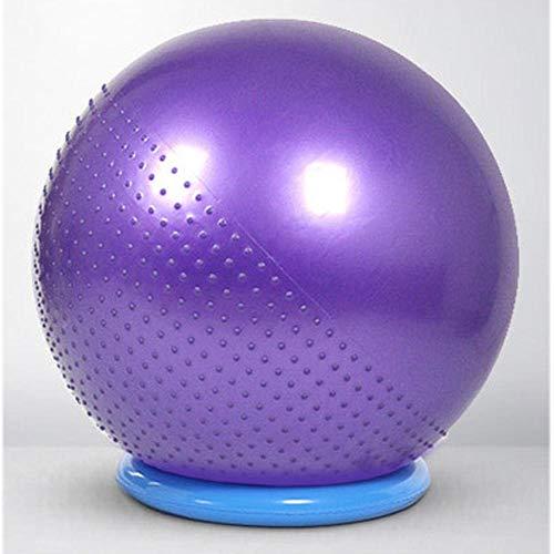 YSCYLY Sitzball Stuhl,Verdickter Massageball 45 cm / 55 cm / 65 cm / 75 cm / 85 cm / 95 cm,FüR Geburt RüCkbildung Beckenbodentraining & Fitness Anti-Burst