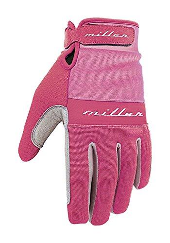 Miller Division S02GM0005 - Guantes, Color marrón Piel, Talla L