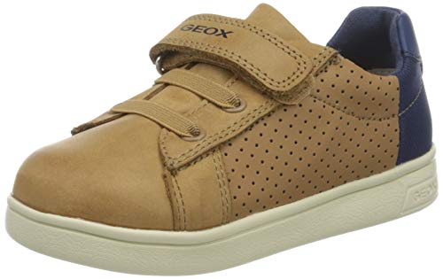 Geox Baby Jungen B DJROCK Boy B Sneaker, Braun (Caramel/Navy C5gf4), 20 EU