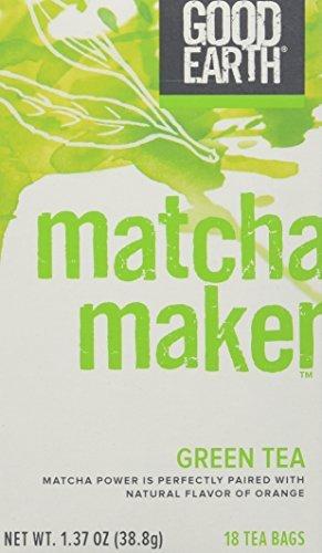 Good Earth 216930 Super Green Tea, Matcha Maker...