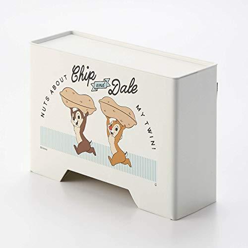 ベルメゾン]ディズニーマスクケースマグネット収納ケース・ボックス玄関ドアに貼って使えるチップ&デール