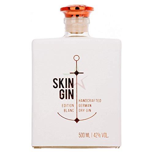 Skin Gin Handcrafted German Dry Gin Edition Blanc 42,00% 0,50 Liter