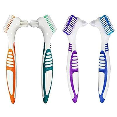 4Pcs Denture Cleaning Brush