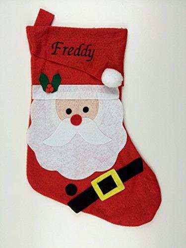 Chaussette de Noël en feutre personnalisable - Cadeau de Noël pour bébé.