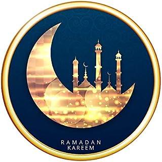 M019D Muslim Ramadan Wall Sticker Islamic Eid Mubarak Culture Sticker Bedroom Living Room Decoration Sticker