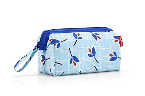 Reisenthel Travelcosmetic dassen etui, 26 cm, 4 L, Blue Leaves