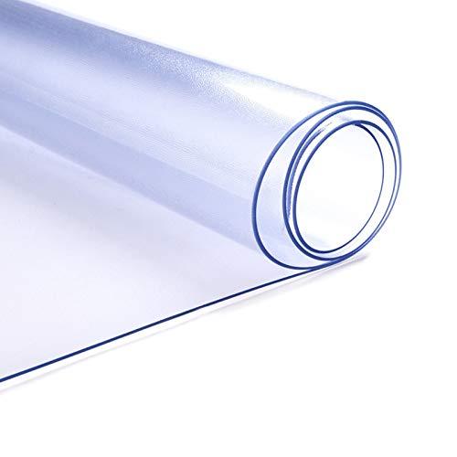 AWSAD 3mm Dicke klare Matte Schreibtischabdeckung Fußmatten für Office Clear Desk Pad Protector, 36 Größen (Color : 3mm, Size : 50x80cm)