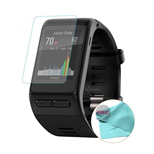 EXINOZ Garmin Vivoactive Screen Protector I Protection with 1-Year Replacement Warranty I Get The Best for Your Garmin Vivoactive Smart Watch