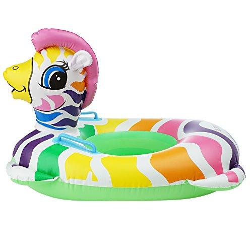 Bramble Aufblasbares Pferd, Klein 65x65x40cm - Schwimmring Luftmatratze Schwimmtier Schwimmreifen Spielzeug Wassertiere Aufblasbar für den Pool Strand Sommer| Inflatable Horse für Kinder Kleinkinder