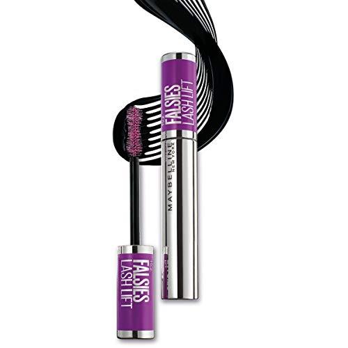 Maybelline New York Mascara Falsies Lash Lift, Effetto laminazione delle ciglia, Scovolino a doppia curva per volumizzare e incurvare, Nero, 9.4 ml