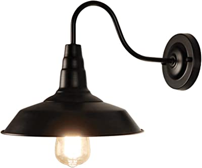 Amazon Com Sylvania General Lighting Sylvania 60060 Weymouth Sconce Light Vintage Fixture Led Flush Mount Dimmable Bulb Included Antique Black Home Improvement