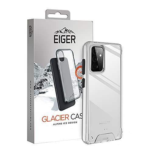 EIGER Glacier - Carcasa para Samsung Galaxy A72 y A72 5G Alpine Ice Crystal Clear