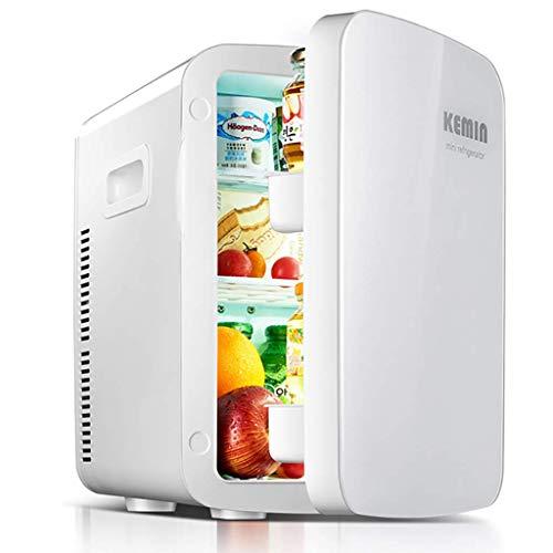 GuoEY Mini Nevera eléctrica Cool Box 12V 240V para automóvil y hogar Refrigerador portátil de 18L Refrigerador de automóvil frío y cálido con Ventana para Viajar y Acampar