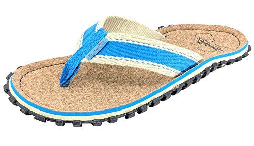 Gumbies Zehentrenner Corker, Farbe: Blue, Größe: 44