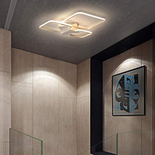 Hancoc Lámpara de techo para el dormitorio de la sala de estar moderna lámpara de techo de personalidad creativa iluminación de aluminio