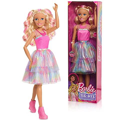 Barbie 61087 Muñeca de Pelo Rubio de 28 Pulgadas