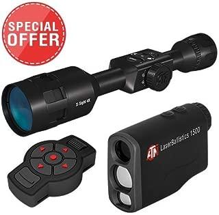 TheOpticGuru Limited Set: X-Sight 4K Buck Hunter 3-14x Smart Daytime Scope w/ LaserBallistics1000 Smart Rangefinder and X-Trac Remote Control
