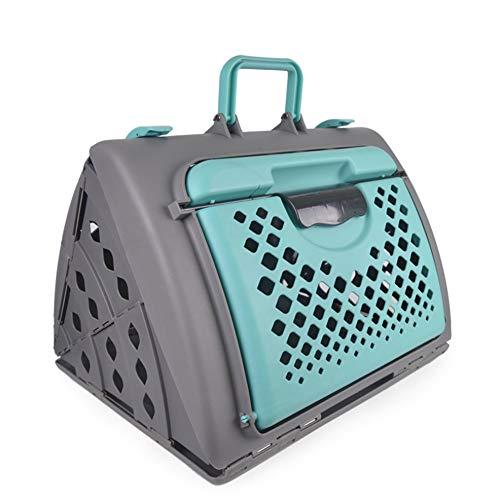 Huisdier tas inklapbare draagbare huisdier luchtdoos kat en hond verzending doos auto tas geschikt voor het uitgaan, een geweldige manier om uw huisdier uit te brengen