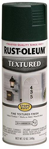 Rust-Oleum 7222830 Textured Spray Paint, 12 oz, Forest Green