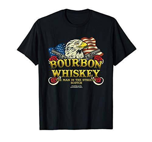 Whiskey Design Bourbon & Scotch Whisky T-Shirt