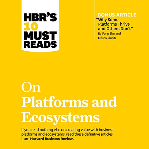 HBR's 10 Must Reads on Platforms and Ecosystems Titelbild