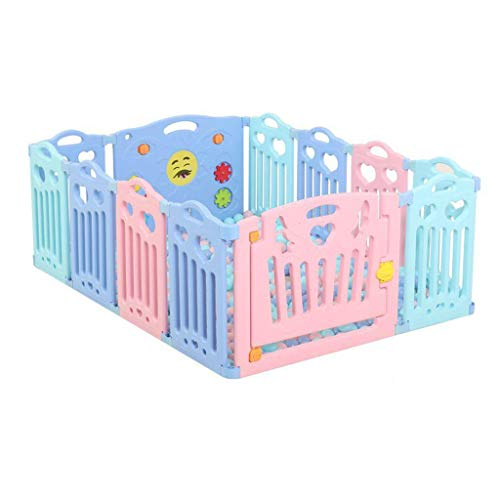 Review Baby Playpens Baby Safety Rails Activity Center Eco-Friendly Hdpe Scalable Multiple Combinati...