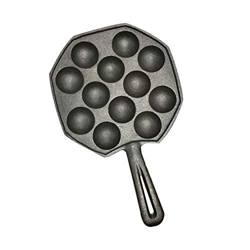 SeniorMar 12 Löcher leicht zu reinigen DIY Takoyaki Pan Octopus Kugeln Backen Maker Grill Form Brennplatte Küche Kochutensilien