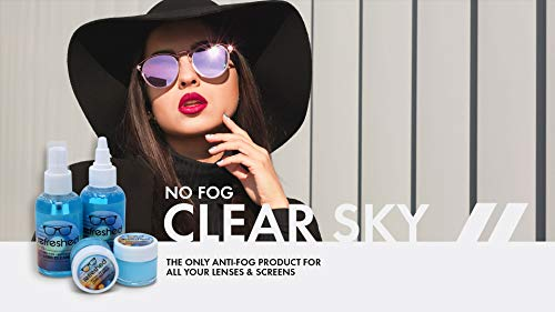 41z2nyJH2cL - Anti Fog Paste for Glasses | Refreshed Brand | Cleans and Prevents Fogging of Eyeglasses, Goggles, Binoculars and More| Long Lasting Solution