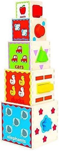 la mejor selección de Hape Pyramid of of of Play by Hape International  las mejores marcas venden barato