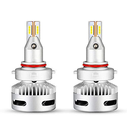 90 W 18000LM Faros Delanteros Bombillas LED, 6500K Super Brillante Lámpara De...