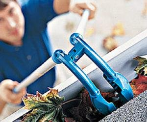 GutterTongs - The Complete Gutter Maintance And Care Tool That Almost Makes Gutter Cleaning Fun