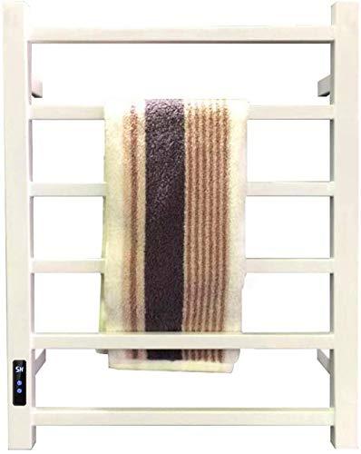 Calentador de toallas eléctrico, con función de temporización de 18 horas, soporte...