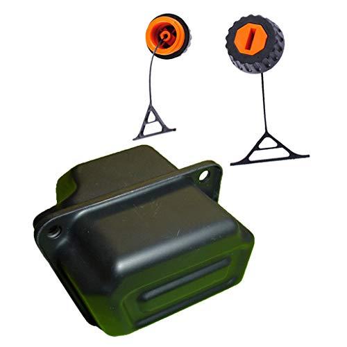 Tankdeckel Öltankdeckel Benzintankdeckel Rasenmäher Schalldämpfer für 025 026 028 034 036 038 048
