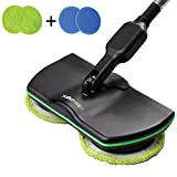 Electric Spinning Mop Rechargeable, Household Cleaning Mop Cordless, Powered Scrubber Polisher Mop,Handheld Spin