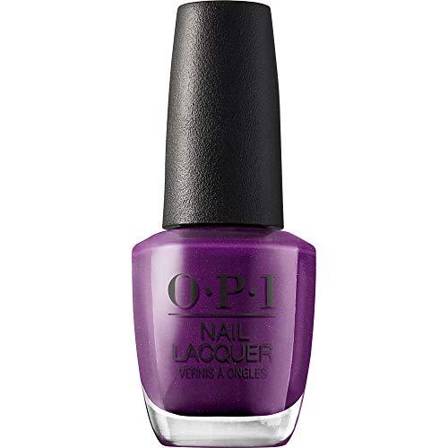 OPI Nail Lacquer, Samurai Breaks a Nail, Purple Nail Polish, Tokyo Collection, 0.5 fl oz