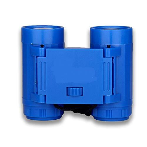 LTH-GD Celestron Telescope 1pc 2.5 x 26 Niños niños magnificación Telescopio Binocular + Correa de Corbata Los Adultos y los niños Pueden Usar (Color : Blue)