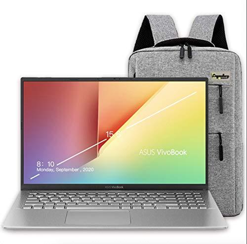 2020 ASUS VivoBook 15 15.6' FHD Display Laptop Computer, AMD Ryzen 7-3700U, 20GB RAM, 512GB PCIe SSD, 2TB HDD, AMD Radeon RX Vega 10, Webcam, HDMI, Windows 10, Silver + Lengendary Backpack & Mousepad