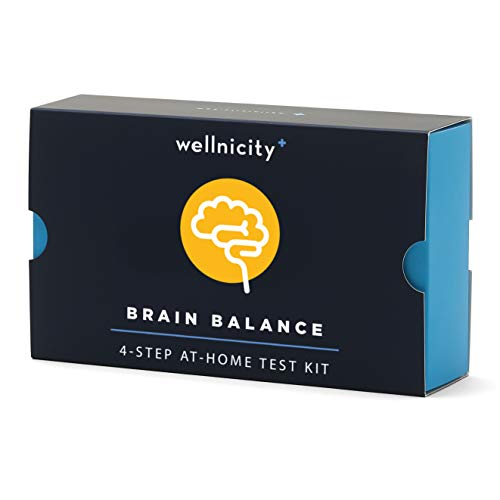 Wellnicity - at-Home Brain Balance Test Kit. A Simple Urine Test to Measure 7 Key neurotransmitters. Not Available in NY