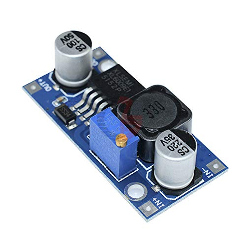 5PCS XL6009 DC-DC Adjustable Step Up Boost Power Converter Voltage Boosting Transformer Step-up Module Replace LM2577