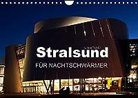 Stralsund FUeR NACHTSCHWAeRMER (Wandkalender 2022 DIN A4 quer): Stralsund -Altstadtjuwel umgeben von Perlen aus Wasser (Monatskalender, 14 Seiten )