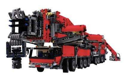 Zenghh Heavy Duty Electric Construction Crane Blocks Juguetes Tractor Tow Truck Model Boy Girl Juego de montaje para adultos Kit de técnica mecánica Control remoto Juego de construcción de rompecabezas educativo