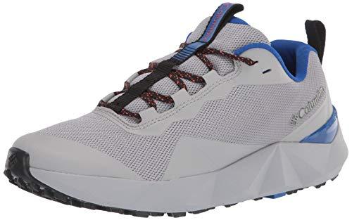 Columbia mens Facet 15 Hiking Shoe, Steam/Cobalt Blue, 8.5 US