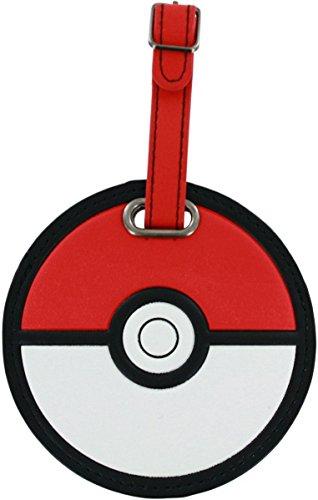 Pokemon Pokeball Luggage Tag
