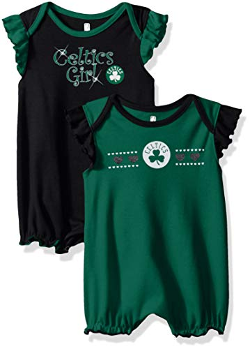 NBA by Outerstuff NBA Newborn & Infant Boston Celtics Homecoming 2pc Bodysuit Set, Kelly Green, 24 Months